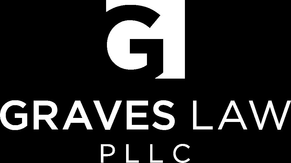 graves law pllc logo white